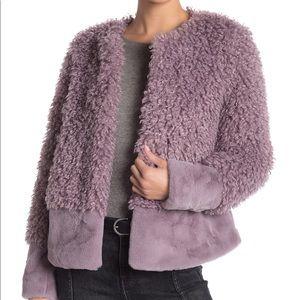 Romeo & Juliet Couture Faux Fur Combo Jacket